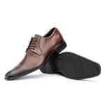 Sapato Social Couro Legítimo Mouro Laser com Cadarço