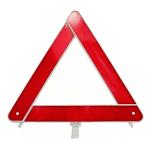 Triangulo Branco Com Base Plastico