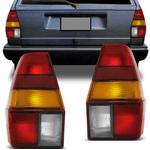 Lanterna Traseira Quantum 1985 a 1990 Tricolor