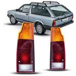 Lanterna Traseira Parati/Saveiro 1987 a 1996 Tricolor