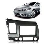 Moldura DVD 2 Din Honda Civic 2007 a 2011 (Grafite)