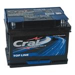 Bateria Automotiva Cral Top Line 60Ah Selada (Polo positivo Esquerdo)
