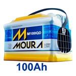 Bateria Automotiva Moura 100Ah Selada (Polo Positivo Direito)