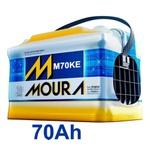 Bateria Automotiva Moura 70Ah Selada (Polo Positivo Esquerdo)