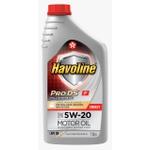 Óleo de Motor Havoline Prods Fullsysthetic 5W 20 API SN Sintético 1Lt.