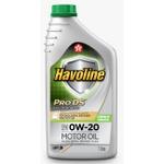 Óleo de Motor Havoline Prods Fullsynthetic 0W 20 API SN Sintético 1Lt.