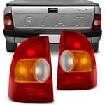 Lanterna Traseira Strada 1996 a 2000 Tricolor