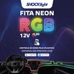 Led Fita Neon RGB 4 Canhões 12v