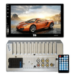 "Multimídia Hurricane HR5007 7"" Polegadas 2 Din Fm/ Usb/ Blue/ Sd/ C/Esp / Ios/ Android"