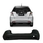 Parachoque Traseiro Honda Fit New 2013 á 2014 Preto Liso
