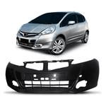Parachoque Dianteiro Honda Fit New 2013 a 2014 Preto Liso