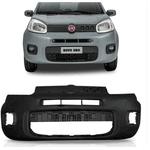 Para-Choque Dianteiro Fiat Uno 2014 a 2016 Preto Liso