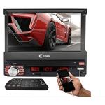 """Multimídia Cinoy 7"""" Retrátil Rad1522 Tv/Fm/Usb/Bluetooh/Espelhameneto/Ios/Android"""