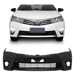 Parachoque Dianteiro Corolla 2015 á 2017 (Preto Liso)