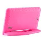 """Tablet Infantil Multilaser 7"""" 8GB Kid Pad Plus Rosa"""