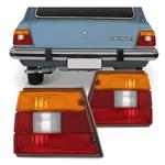 Lanterna Traseira Caravan 1980 a 1992 Tricolor