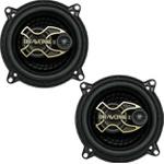 Kit Falante Bravox Triaxial 5 Polegadas 100 Wrms 4 Ohms Gold B3X50G