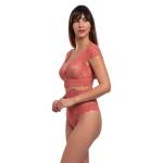 Body Beline Renda Coral
