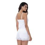 Pijama Baby Doll Homewear Branco