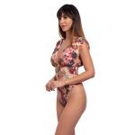 Body/maiô Tango Nature estampa exclusiva digital