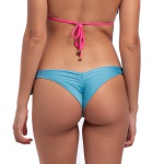 Calcinha Karol Dupla Face Azul/Pink