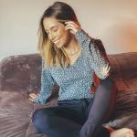 Pijama Manga Longa Mescla Onça
