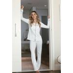 Pijama Homewear Calça e Camisa Branco