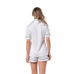 Pijama Homewear Short e Camisa Branco