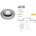 Par de disco de freio dianteiro Citroen Xsara, Peugeot 206, Peugeot 207. Disco solido diametro 247mm e 04 furos
