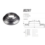 Par de disco de freio traseiro Hilux 2.7 4x2 e 4x4, Hilux 2.8 4x4, SW4 2.7 4x2, SW4 2.8 4x4 e SW4 4.0 4x4 todos 2016/. Disco ventilado diametro 312mm e 06 furos