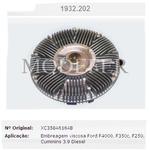 Embreagem/polia viscosa F250, F350 e F4000 1999/ com motor Cummins - 1932202