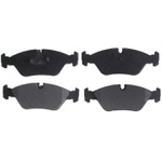 Jogo de pastilhas do freio dianteiro BMW, Ferrari, Maserati e Porsche. Referencia Raybestos SGD395M ou SSD395 - 33395