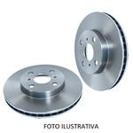 Disco de freio dianteiro Blazer e S10 1996 a 2000. Disco ventilado diametro 276mm e 06 furos. Preço por peça