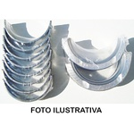 Bronzina de mancal 1,00 A20, C20, Bonanza, Caravan, Opala e Veraneio motor 250 6 cilindros - SBC183J 100S