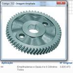 Engrenagem do comando Opala (Aluminio) 4 e 6 cilindros - APL212