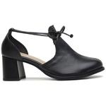 Sapato Feminino Salto Grosso Preto - Dublin - 771-01