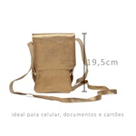 Bolsa Porta Celular Essência Bronze