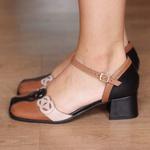 Sapato Retro Feminino- 913-16