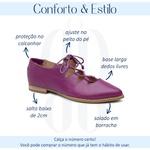 Sapatilha Feminina Bico Fino Couro Confortável Açaí - Valência - 901-13