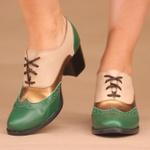 Oxford Feminino de Salto Verde- 6872-01
