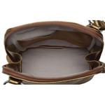 Bolsa de Couro Legítimo Pequena Xodózinha Bronze