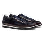 Sneaker Balder Couro Azul Marinho