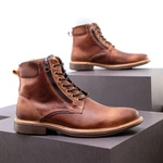 Bota Coturno Casual Masculino Faway Stone Destroyer Tan