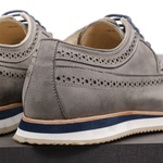 Sapato Casual Derby Brogue Durhan Off White