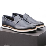 Sapato Casual Loafer Durhan Faway Marinho