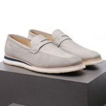 Sapato Casual Loafer Durhan Faway Off White