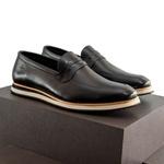 Sapato Casual Loafer Durhan Faway Preto