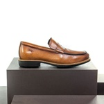 Sapato Casual Masculino Loafer Mood Aspen Havana