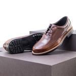 Sapato Casual Masculino Oxford Mood Sidetrack Café e Whisky