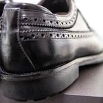 Sapato Masculino Derby Brogue Faway Mood Harken Preto
